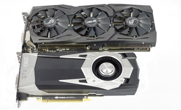 【NVIDIA GTX1060FE & ASUS STRIX GTX1060 OC 评测】The GeForce GTX 1060 Founders Edition & ASUS Strix GTX 1060 Review