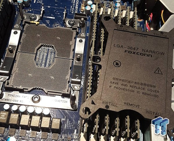 【Intel 下代Skylake至强V5系列 工程样品曝光】Intel Skylake Xeon V5 Engineering Samples Spotted