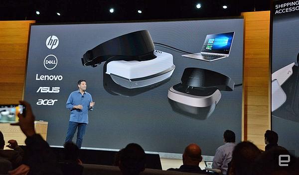 联想、惠普和戴尔等正在打造 300 美元级的 Windows VR 头戴设备
