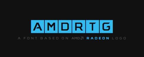 AMD RTG 字体【Font】