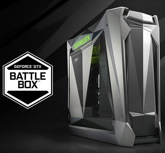 NVIDIA带来搭载AMD Ryzen处理器的GeForce GTX Battlebox