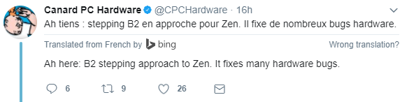 B2步进Ryzen即将到来,修正Uncore/SoC部分硬件bug