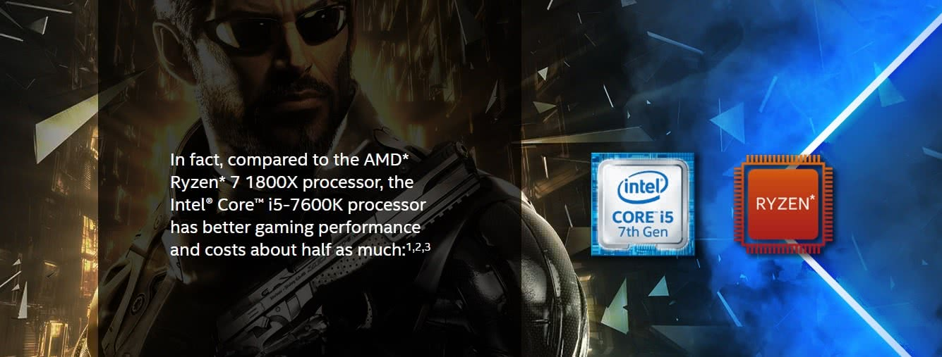 Intel's bullshit Marketing strikes again