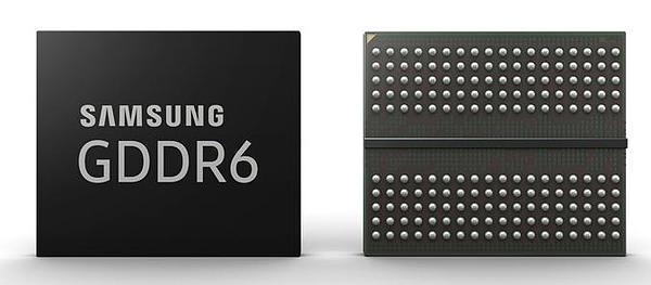 三星发布16Gb GDDR6显存,传输速率达到16Gbps