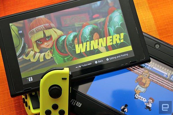 任天堂卖出的 Switch 已经超过了 1,000 万台