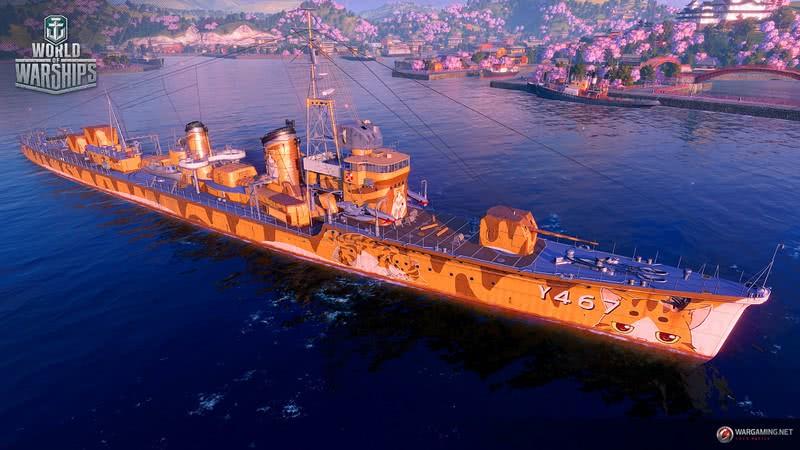 战舰世界 x 高校舰队 第二次联动,明年初到来!