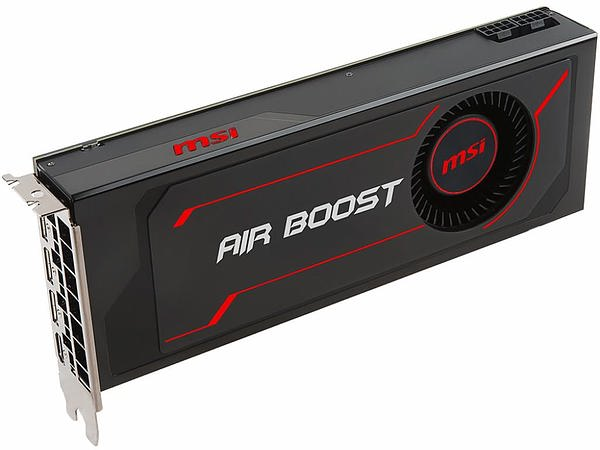 MSI 微星发布RX Vega 64 Air Boost 8G OC 显卡