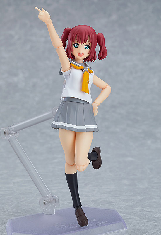 【Lovelive!Sunshine!!】Maxfactory figma「黒沢ルビィ 可動フィギュア」