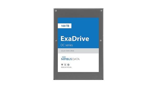 Nimbus Data ExaDrive DC100 SSD 容量达100TB,采用3D MLC NAND Flash