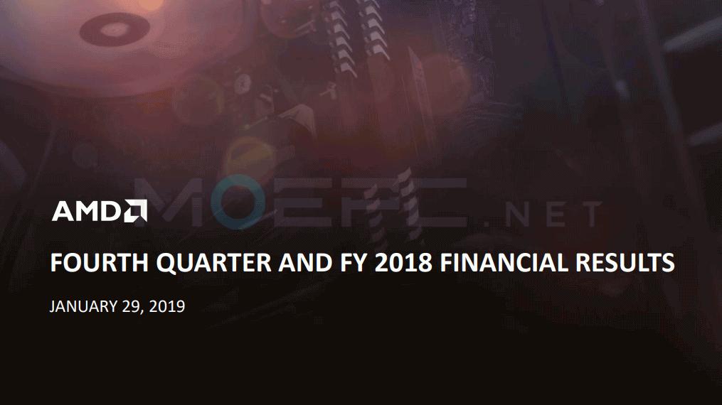 AMD Q4 2018 财报信息【摘要】